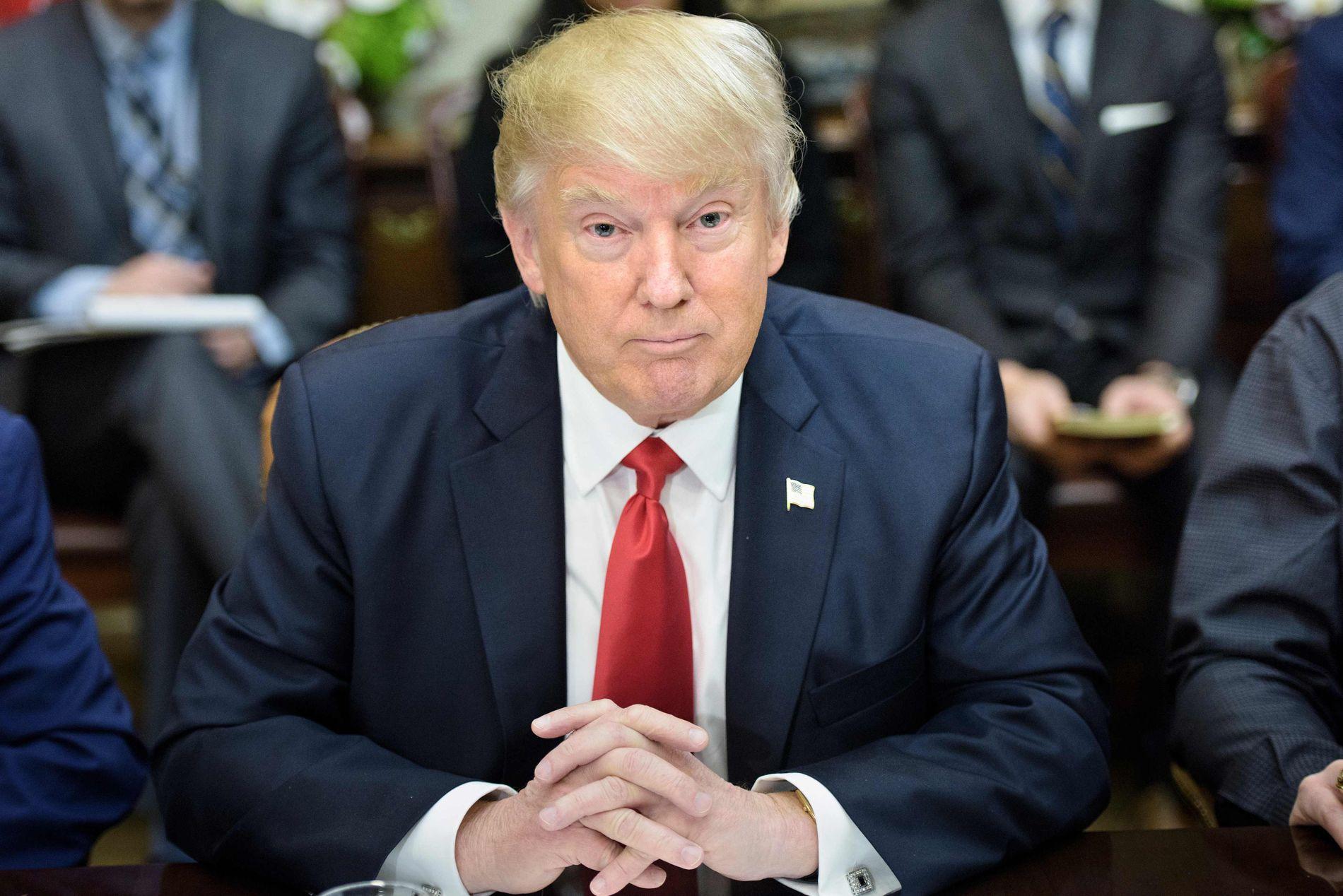 MISTER INNREISEFORBUDET: Trumps innreiseforbud stoppes av utenriksdepartementet i landet.