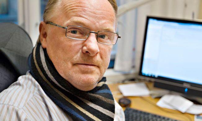 BOTKRAV: Fiskeriminister Per Sandberg blir utfordret å øke bøtene for oppdrettsselskap som trenerer nedslakting av laks med for mye lus.