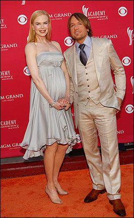 SNART FORELDRE: Nicole Kidman og Keith Urban. Her fra Country Music Adwards i mai. Foto: AP