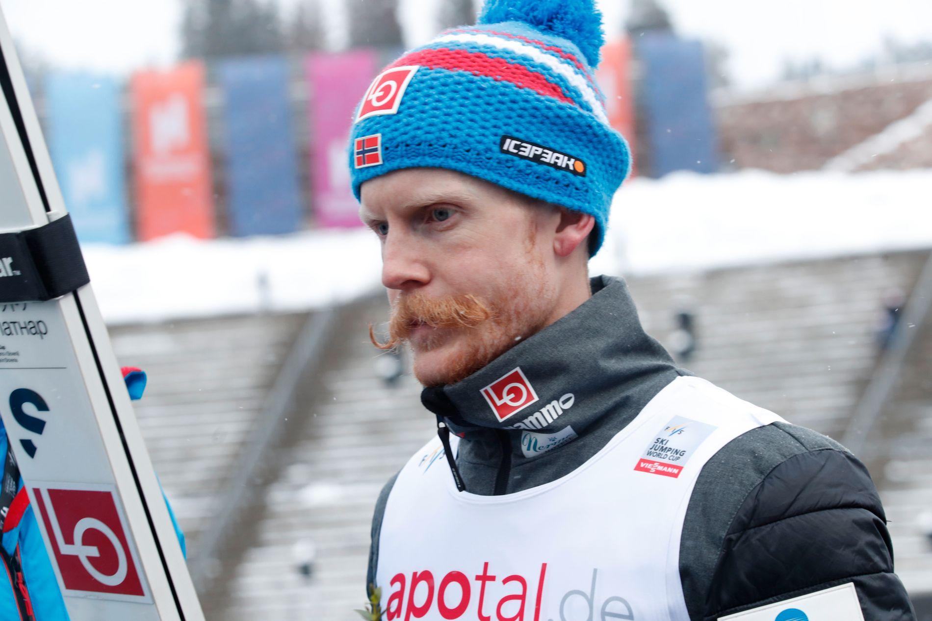 LITT BAK: Etter å ha ledet RawAir til nå, er Robert Johansson i utfordrerposisjon med fire konkurransedager igjen. Her fra Oslo i helgen.