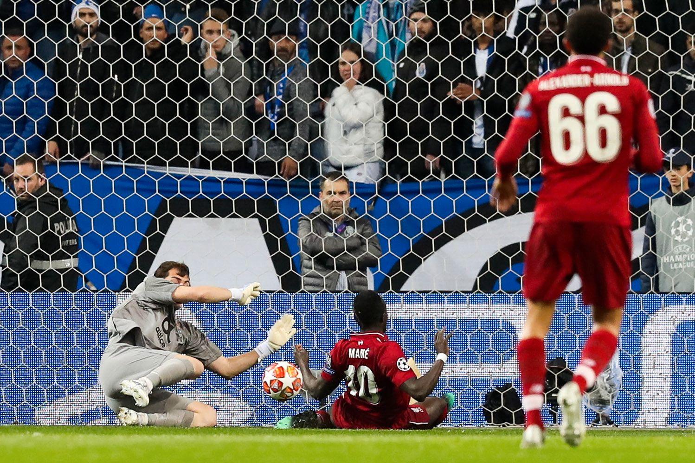 Scoringen til Mane sendte ham opp blant de aller største målscorerne i klubbhistorien i Europacupene.