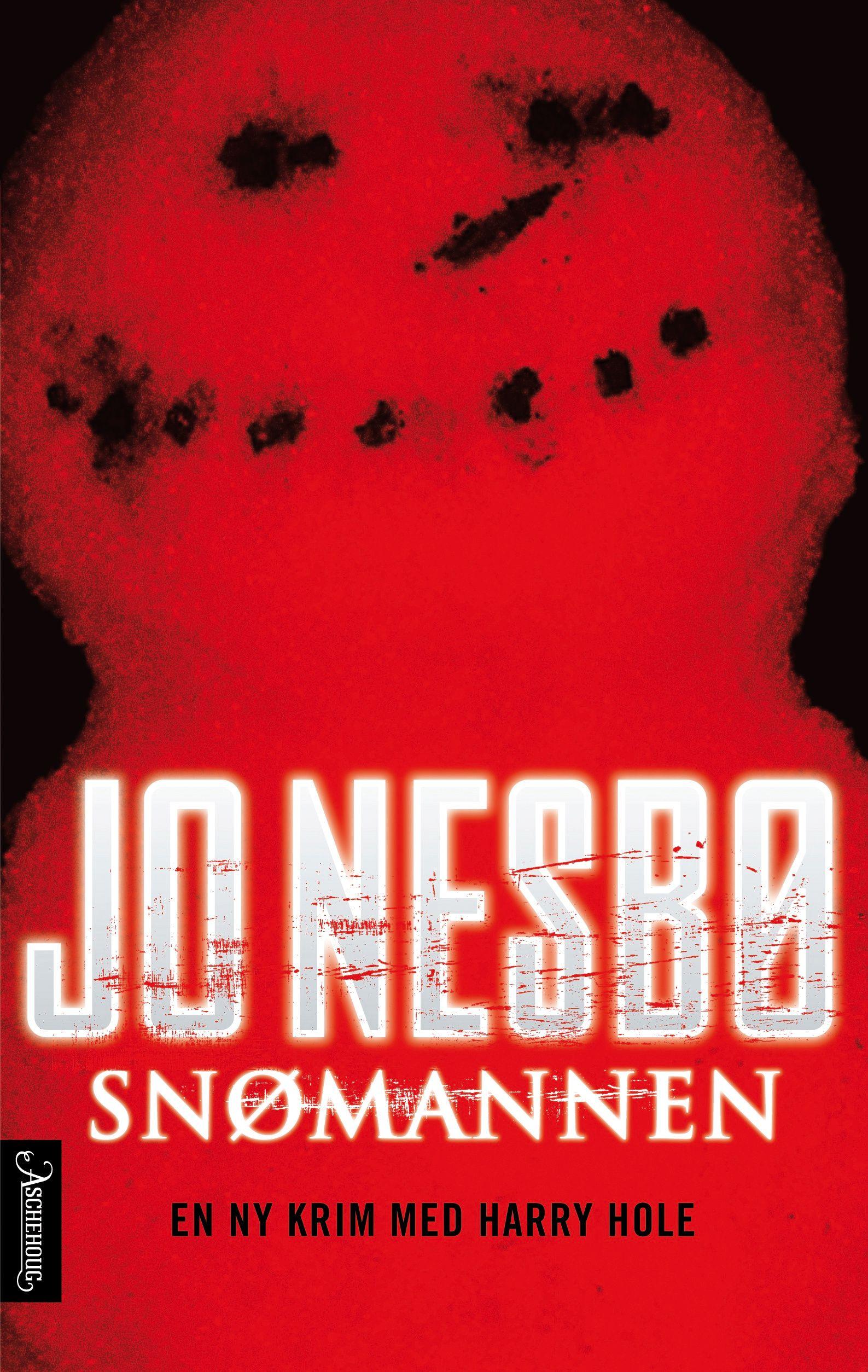 ORIGINALOMSLAGET: Jo Nesbø ble endelig fornøyd - etter at redaktør Øyvind Pharo selv lagde snømannen som endte opp på bokomslaget.