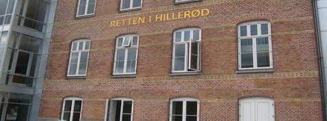 Tingretten i Hillerød i Danmark.