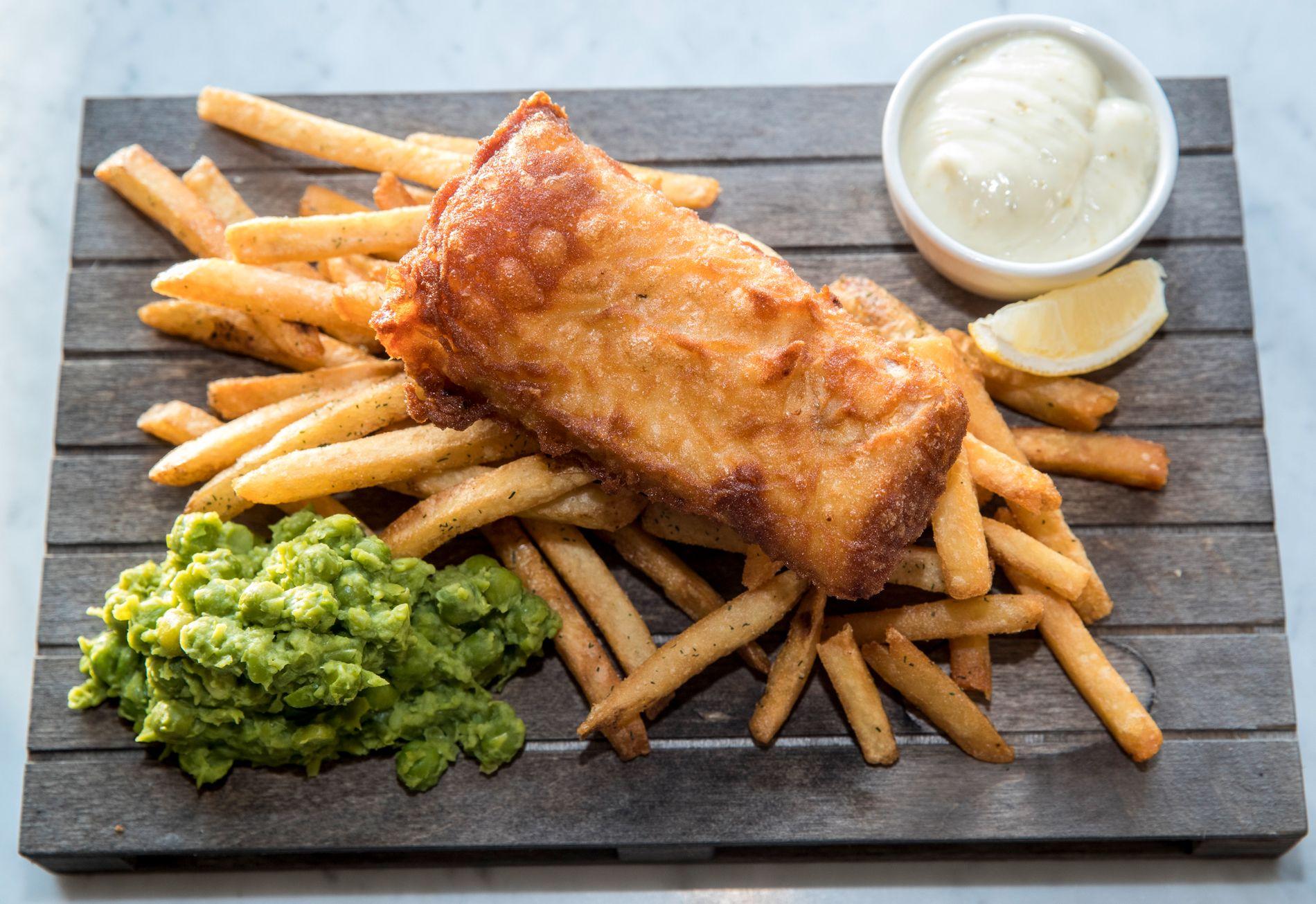 HYSE: Storbritannia er Norges fjerde største marked for eksport av sjømat, og hyse til fish'n'chips er viktig.
