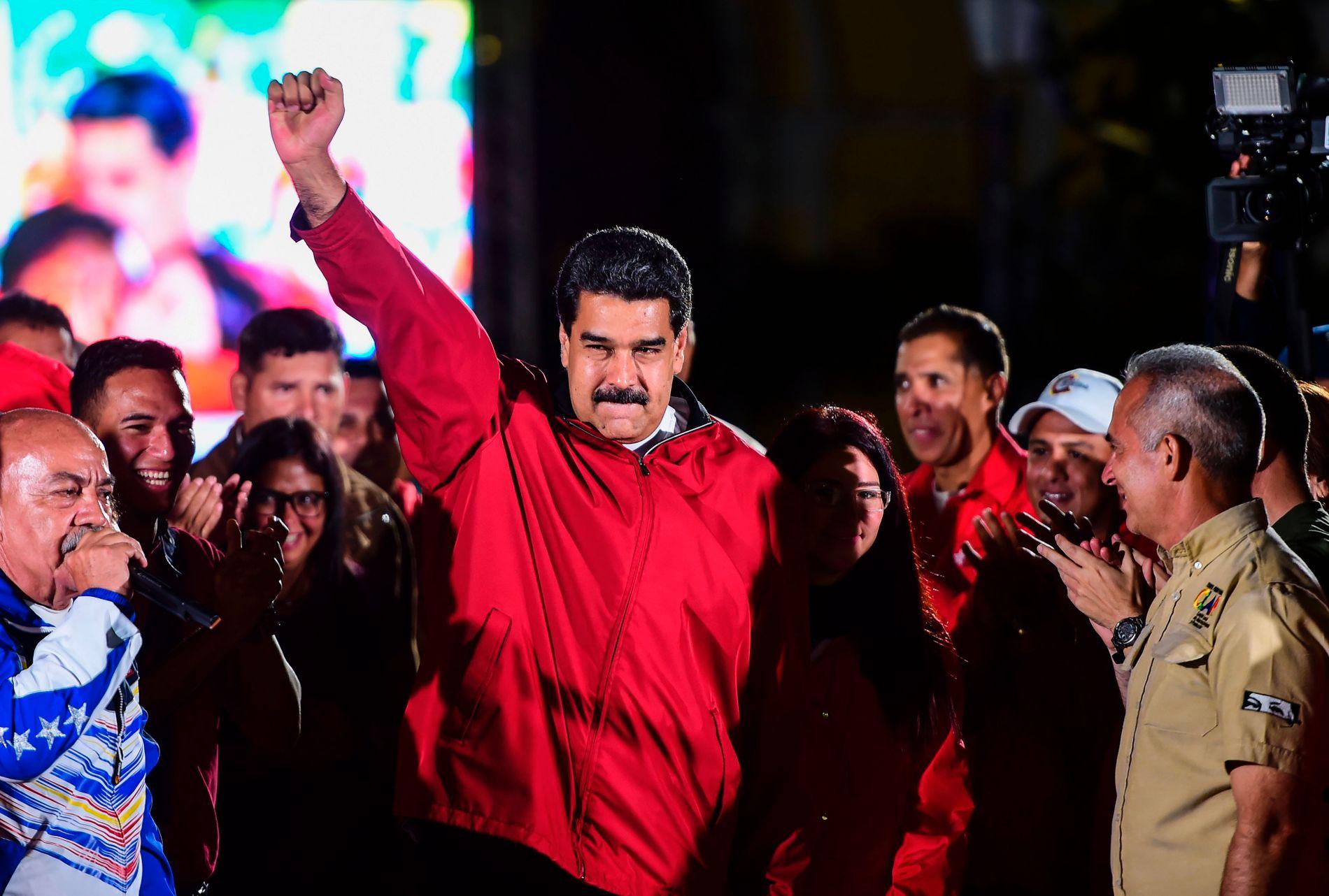 AUTORITÆR: – Det er mulig at president Maduro oppnår sitt mål om å sitte lenger enn til 2018. Den nye grunnlovsgivende forsamlingen og en ny grunnlov vil sammen med militæret kunne beskytte ham fra folket, skriver kronikkforfatteren.