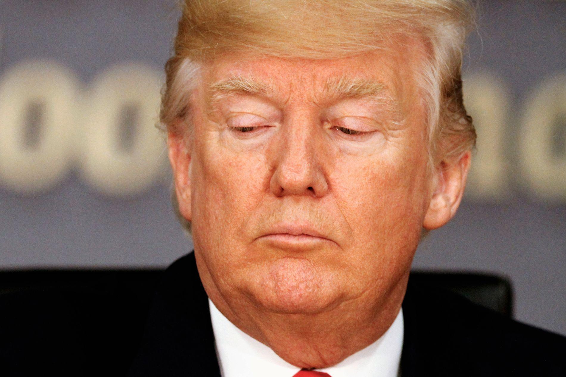 MØTER MOTSTAND: USAs president Donald Trump lovet under valgkampen å fjerne DACA, men møtte kraftig motstand da han gjorde det tirsdag.