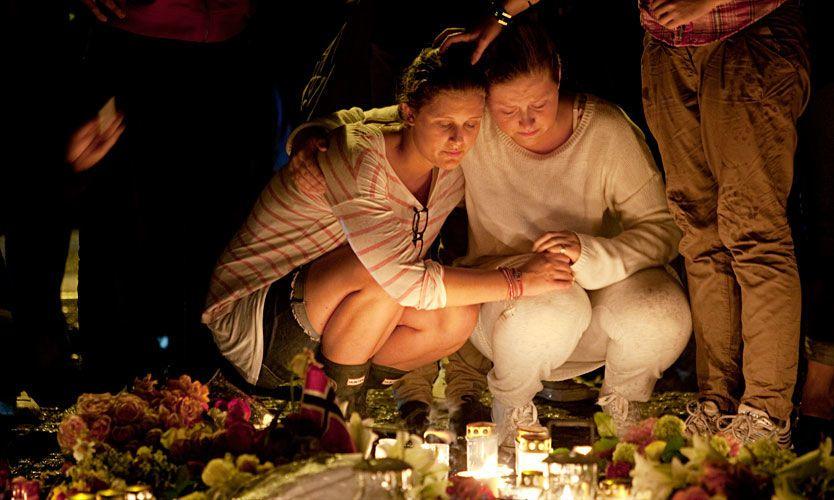 Minnemarkeringer for ofrene fra dagen vi aldri vil glemme foregår over hele landet. Foto: Espen Rasmussen