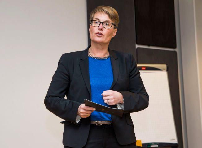 FORNØYD: – Dette er alt i alt avtale vi kan bygge et framtidig samarbeid på, sier klima- og miljøministeren Tine Sundtoft.