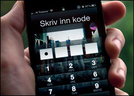 707429853 Her er de ti vanligste mobil-kodelåsene