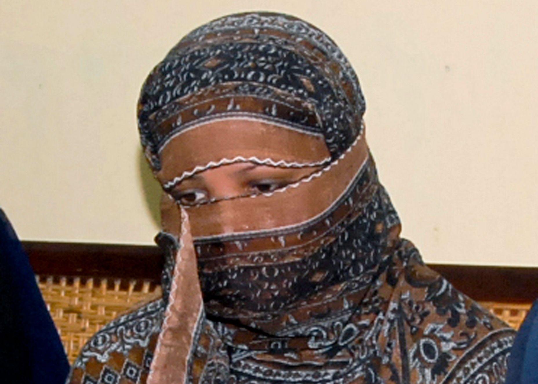 LØSLATT: Romersk-katolske Asia Bibi fra Punjab i Pakistan er blitt frikjent for blasfemi og løslatt etter ni år i fengsel. Bildet er tatt i november 2010.
