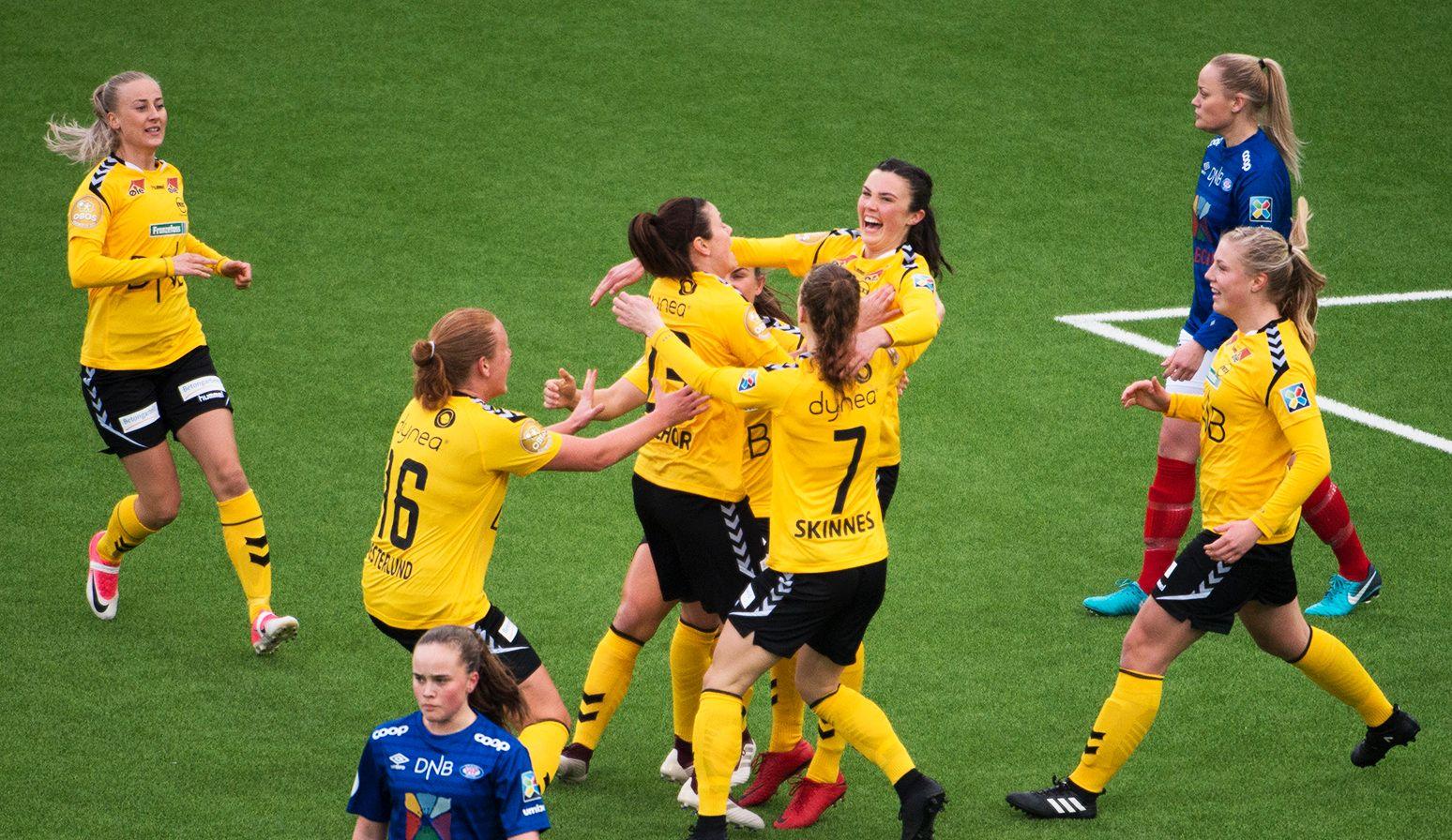 LSK Kvinner er ledende på kvinnesiden i norsk fotball.
