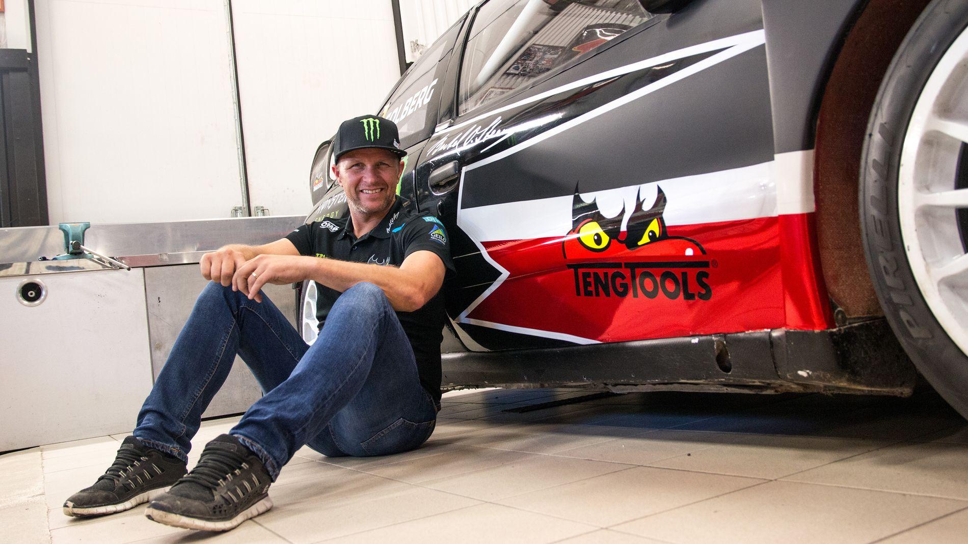Regjerende verdensmester i rallycross, Petter Solberg.