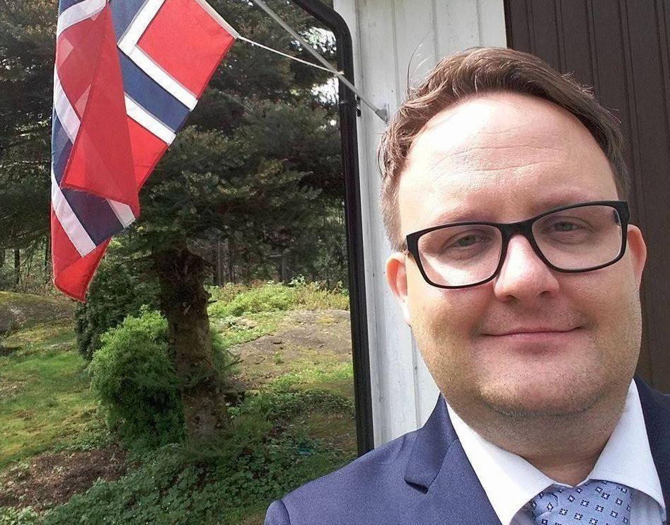 ANGRER IKKE: Arendal-politikeren Gjermund Orrego Bjørndahl (Ap) mener Listhaug fremmer rasisme med sin politikk og retorikk – og at hun som minister burde tåle å bli kalt «jævla rasistkjerring».