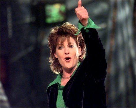 VINNER: Katrina Leskanich i Katrina and the Waves stakk av med seieren i Eurovision 1997. Foto: Tom-Egil Jensen