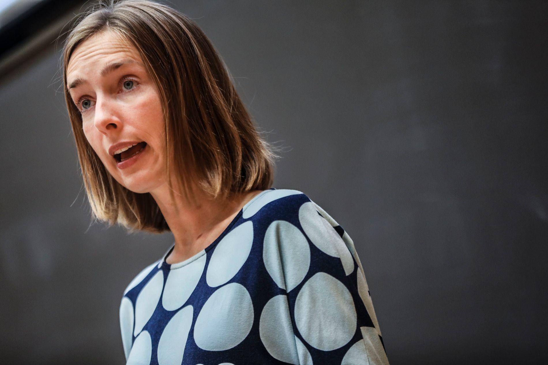 ENDRER: Utdanningsminister Iselin Nybø (V) endrer hvordan studielånet blir omgjort for at flere skal gjennomføre utdanningsløpet.