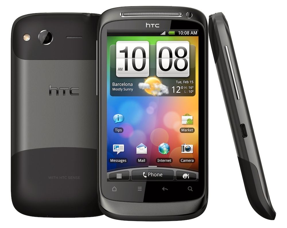 HTC Desire S - En budsjett-telefon i 2011.