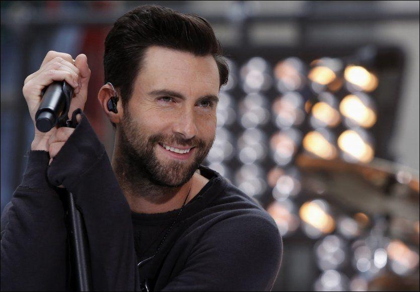 SEXY: Levine vant kåringen på grunn av sex-appeal og en yoga-stram kropp ifølge bladet People. Her under en opptreden på «Today show» i New York i juni. Foto: REUTERS