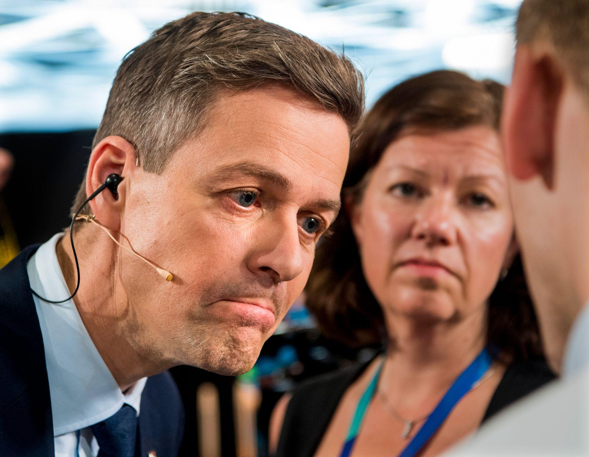bb7d067d VERNER IKKE ERNA I FIRE ÅR: Knut Arild Hareide, her etter den siste  partilederdebatten Partilederdebatt på Media City på NRK i Bergen.