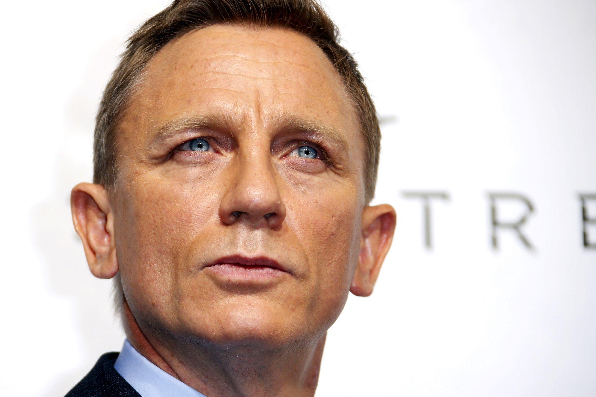 NY FILM: Daniel Craig spiller nå i sin femte James Bond-film.