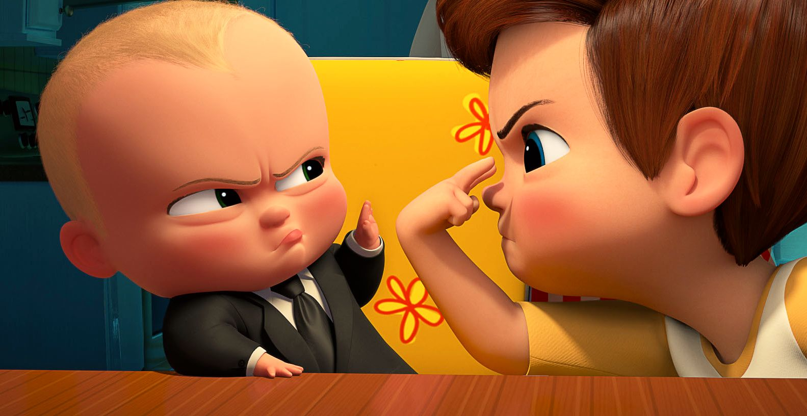 KAN FÅ PRIS: «The Boss Baby». Foto: 20th Century Fox
