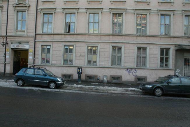 ÅSTED: Egil Tostrup Bråten ble funnet døende like utenfor sitt hjem i Nordahl Bruns gate 22 i Oslo sentrum.