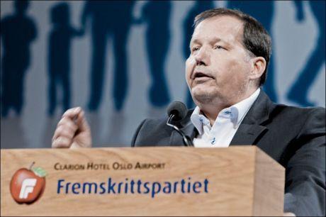 MER PENGER: Frps andre nestleder Per Arne Olsen mener regjeringen bør øremerke penger til psykiatrien. Foto: Krister Sørbø, VG