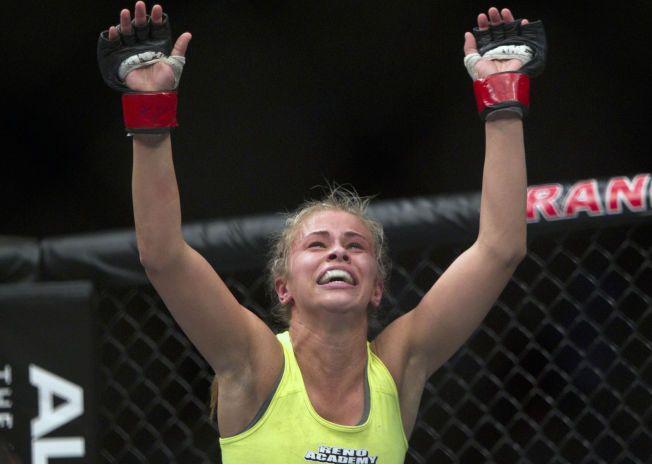 STORTALENT: Paige Vanzant har det meste som skal til for å bli en superstjerne i MMA.