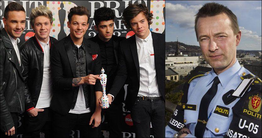 Politiet før One Direction besøket: Ikke naive – VG