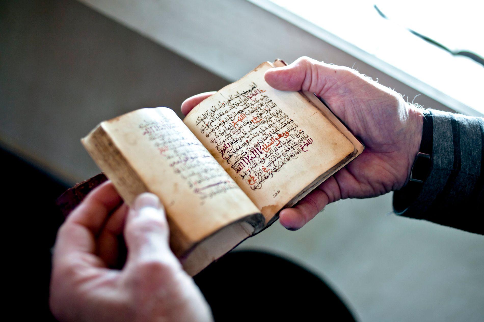 BRANT KORANEN: Tiltalte skal ha lagt ut en video på Facebook der han brenner Koranen. Dette er et illustrasjonsbilde.
