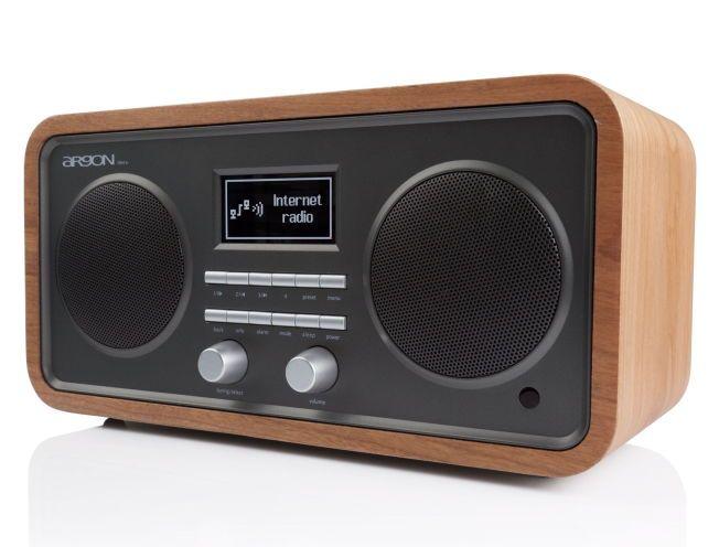 STRØMMING: Med stereohøyttalere har Argon-radioen iNet3 en fordel, og med Spotify Connect i tillegg til digitalradio, får man mye for pengene her.