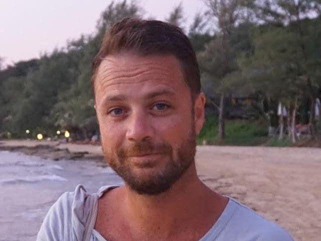 DREPT: Chris Bevington (41) mistet livet da en lastebil braste inn i folkemengden i Stockholm sentrum fredag ettermiddag.