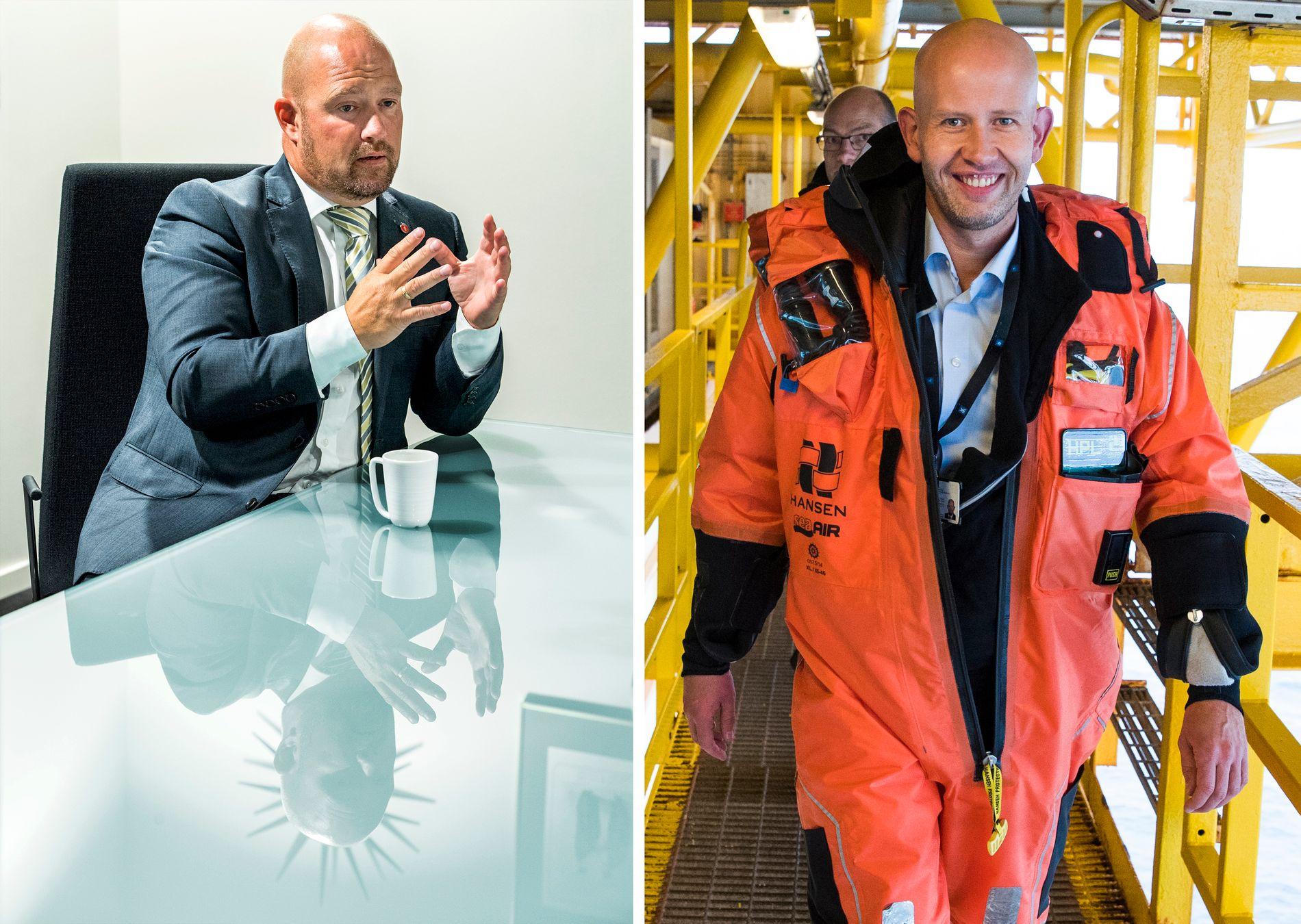 GÅR AV: Ifølge NTB kommer både justisminister Anders Anundsen og olje- og energiminister Tord Lien til å gå av. FOTO: HELGE MIKALSEN OG FRODE HANSEN, VG