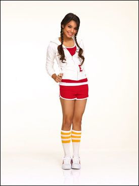SPILLER CHEERLEADER: Vanessa Hudgens. Foto: Disney Channel.