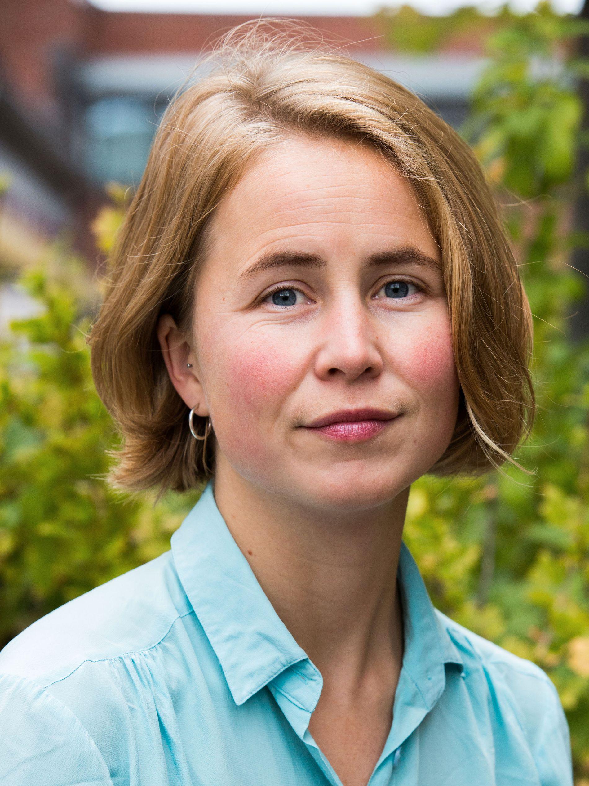 Anja Bakken Riise, leder av Framtiden i våre hender.