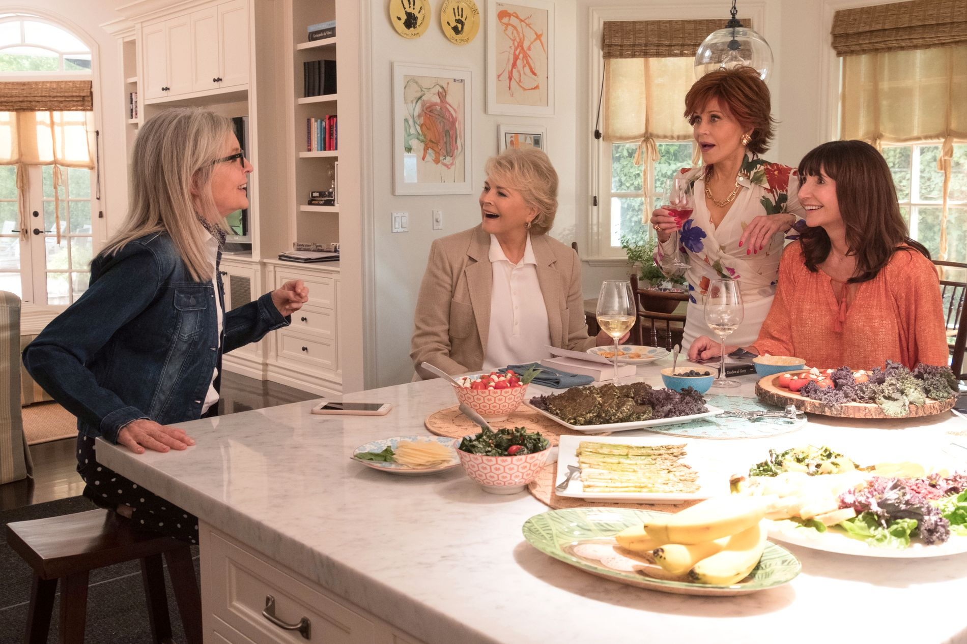 «IN DA CLUB»: Diane Keaton, Candice Bergen, Jane Fonda og Mary Steenburgen (fra venstre) i «Book Club».