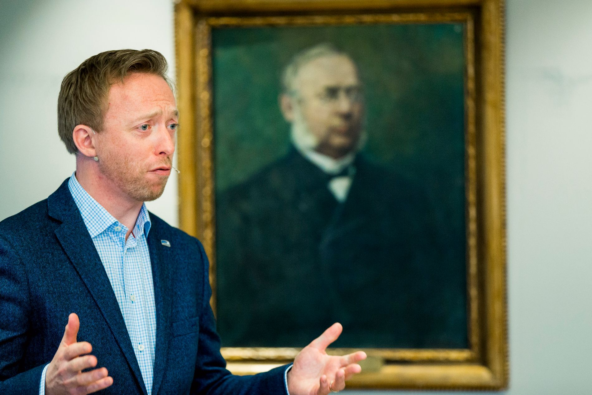 FLERE VARSLINGER: Generalsekretær John-Ragnar Aarset og Høyre har mottatt flere varslinger siden fredag.