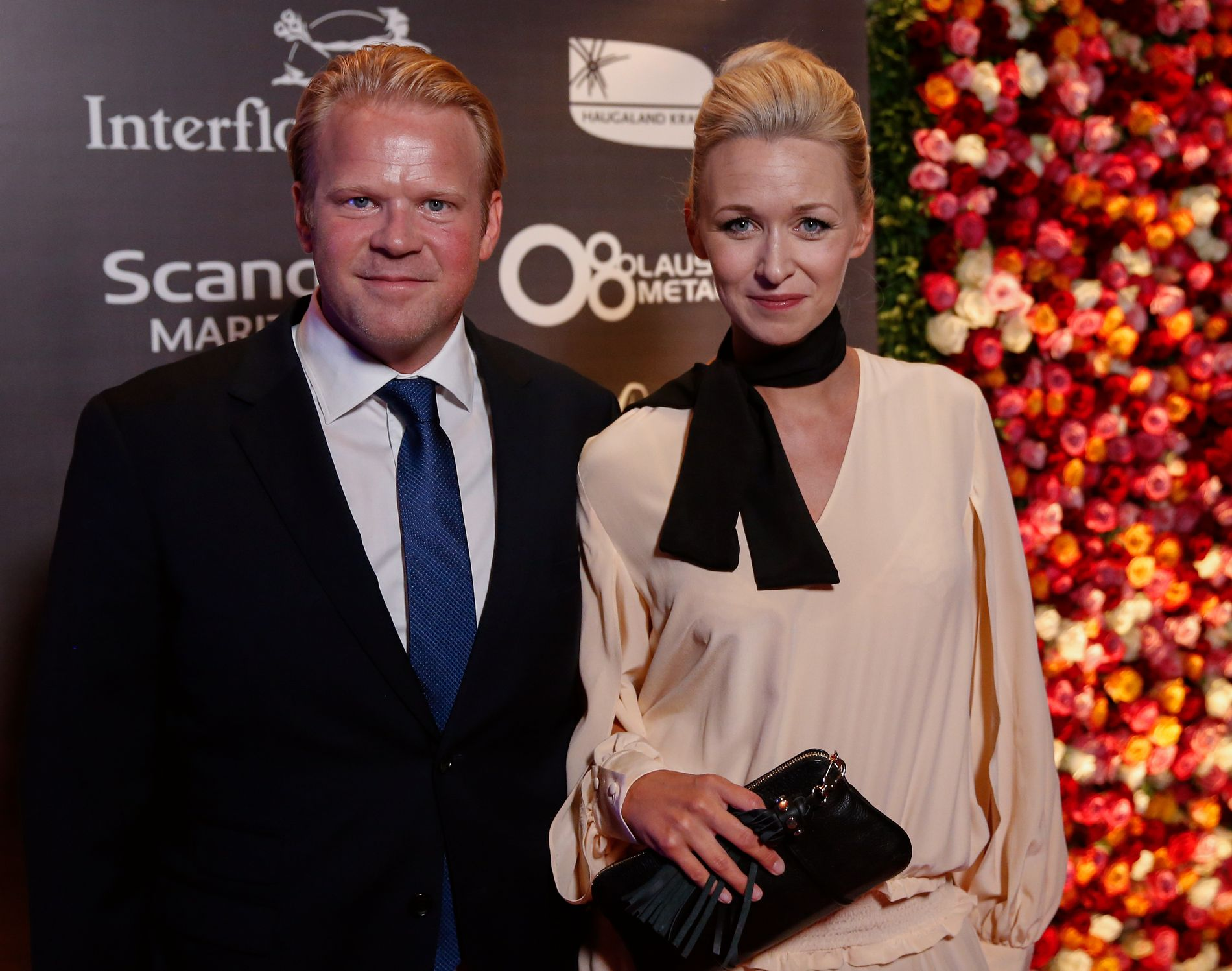 BLE FORELDRE I JANUAR: Anders Baasmo Christiansen og Marie Blokhus, her under Amanda-utdelingen i Haugesund i fjor.
