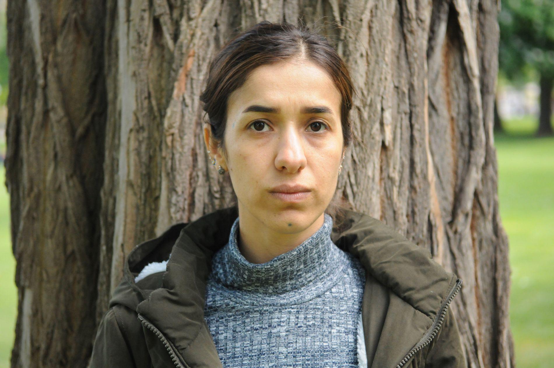 KAMPVILJE:  Tidligere IS-fange Nadia Murad møtte VG til intervju på sitt nye hjemsted i Tyskland på forsommeren 2018. Den yezidiske kvinnen fra Irak overlevde vold og overgrep hun ble utsatt for da hun ble tatt til fange og holdt som slave av terrorgruppen IS.