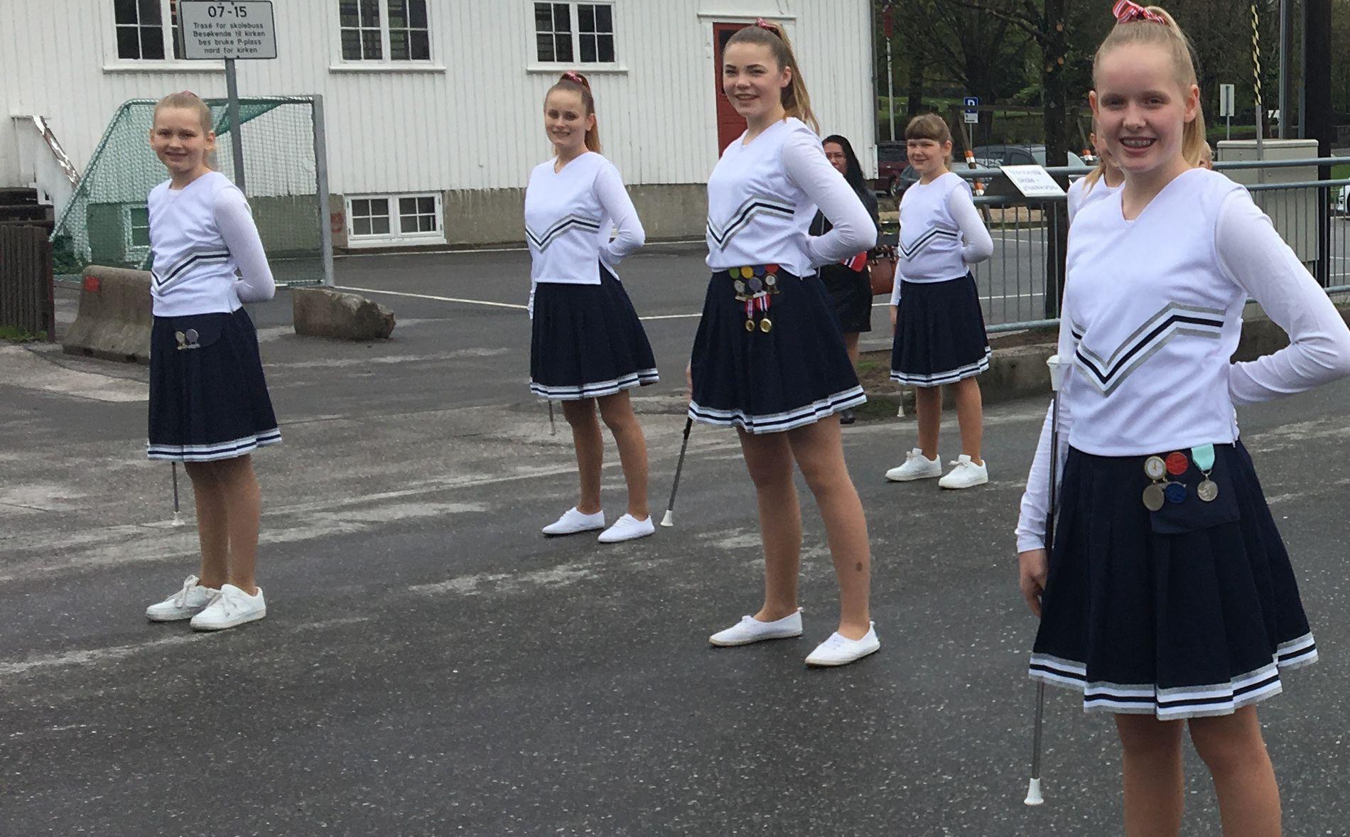 GLADNYHET: Vennesla Drill fikk mandag den glade nyheten om at de får være med å gå i skoletoget på 17. mai, etter at 17. mai-komiteen ombestemte seg.