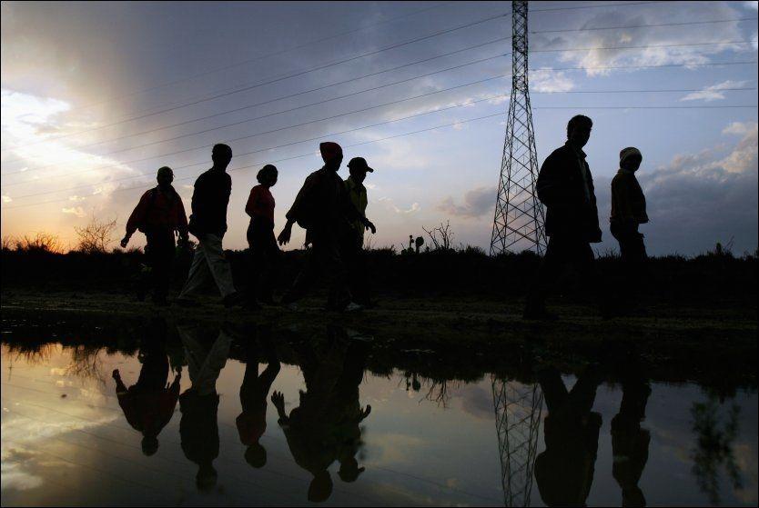 ENORM ØKNING: Tallet på illegale barneimmigranter som krysser grensen uten sine foreldre har økt med hele 93 prosent fra samme periode i fjor. Foto: Carlos Barria, Reuters (Arkivfoto)