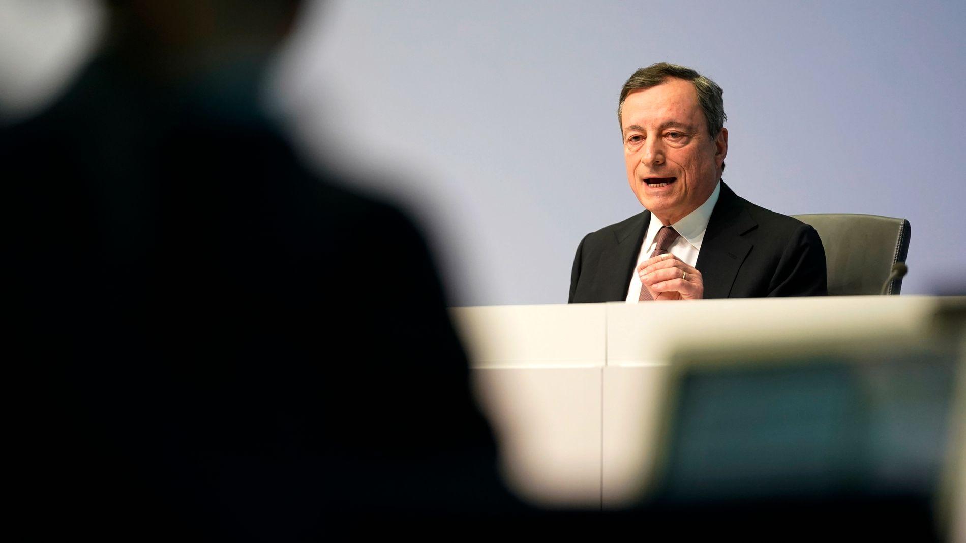 SENTRALBANK: Den europeiske sentralbanken offentliggjør sin rentebeslutning torsdag ettermiddag.