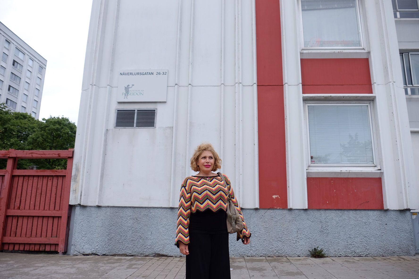 INNVANDRINGSKRITISK: – Jeg håper Sverigedemokraterna kan redde dette landet, sier iranskfødte Mandana Amini.
