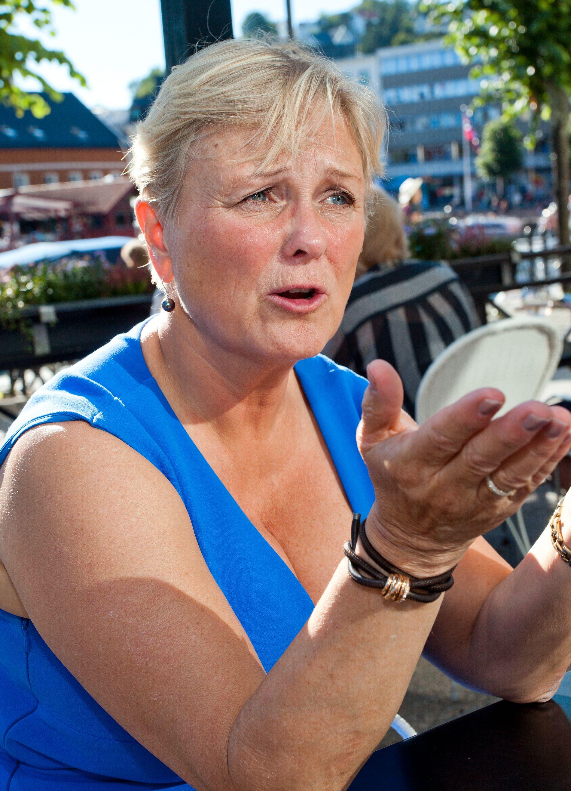 I STYRET: Thorild Widvey sitter i WADA-styret. Her under Arendalsuka i 2015.