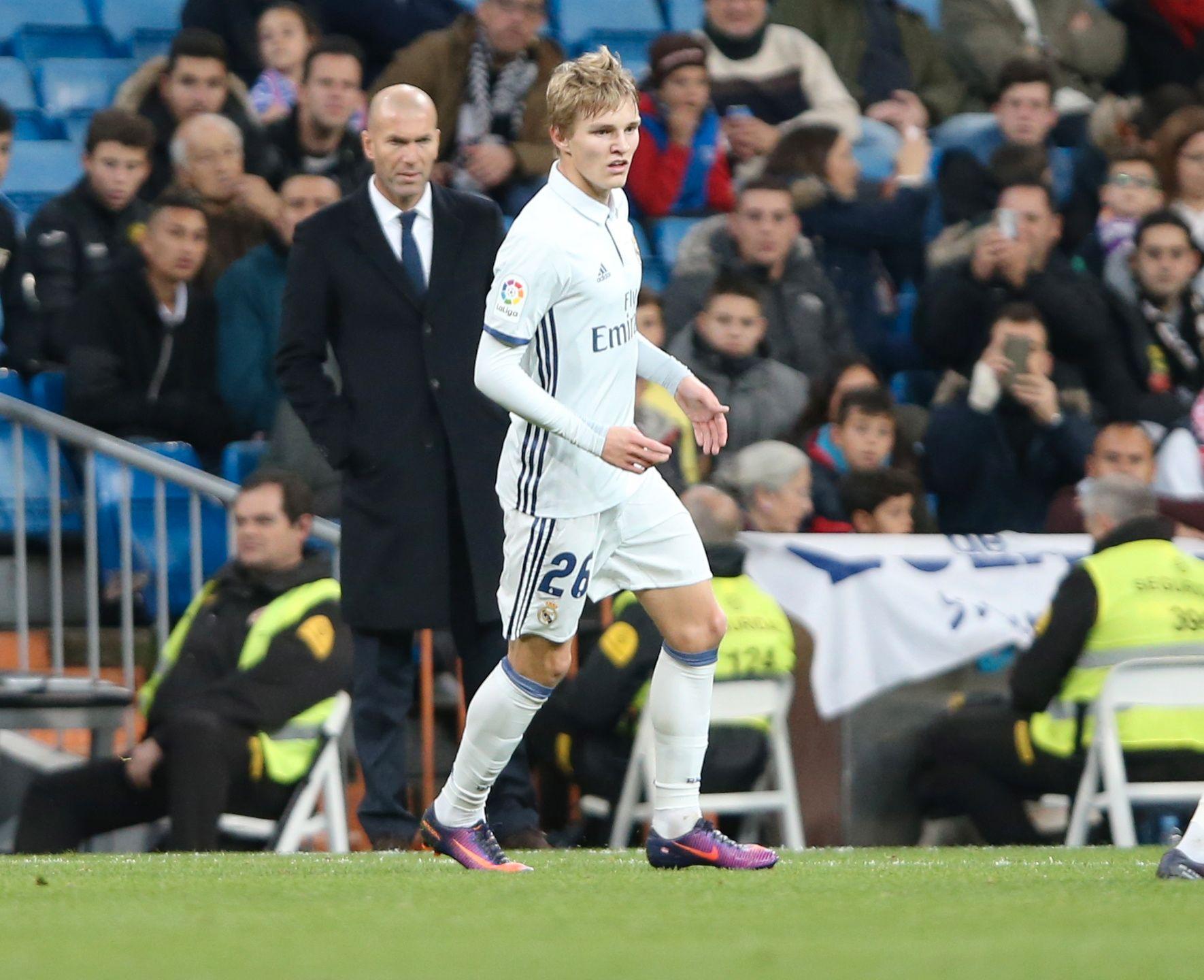 PROFILERT SJEF: Martin Ødegaard innrømmer at det ikke alltid var lett å ha en så teknisk overlegen eks-spiller som trener.