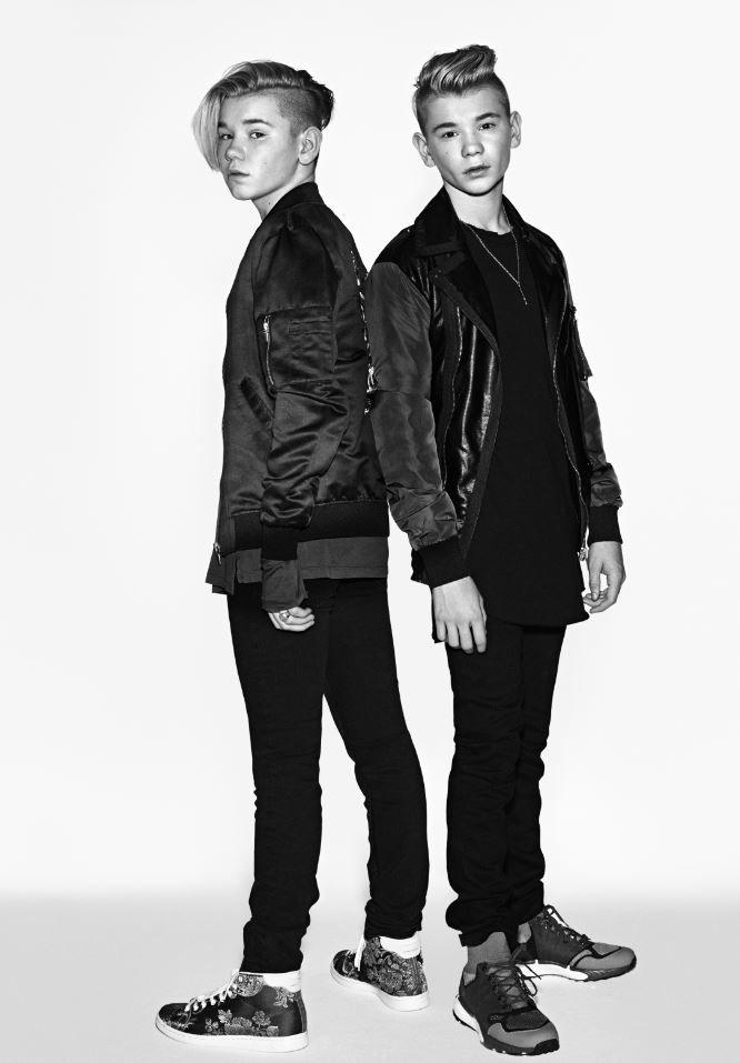 POPKOMETER: Marcus & Martinus. Foto: FRED JONNY/SONY