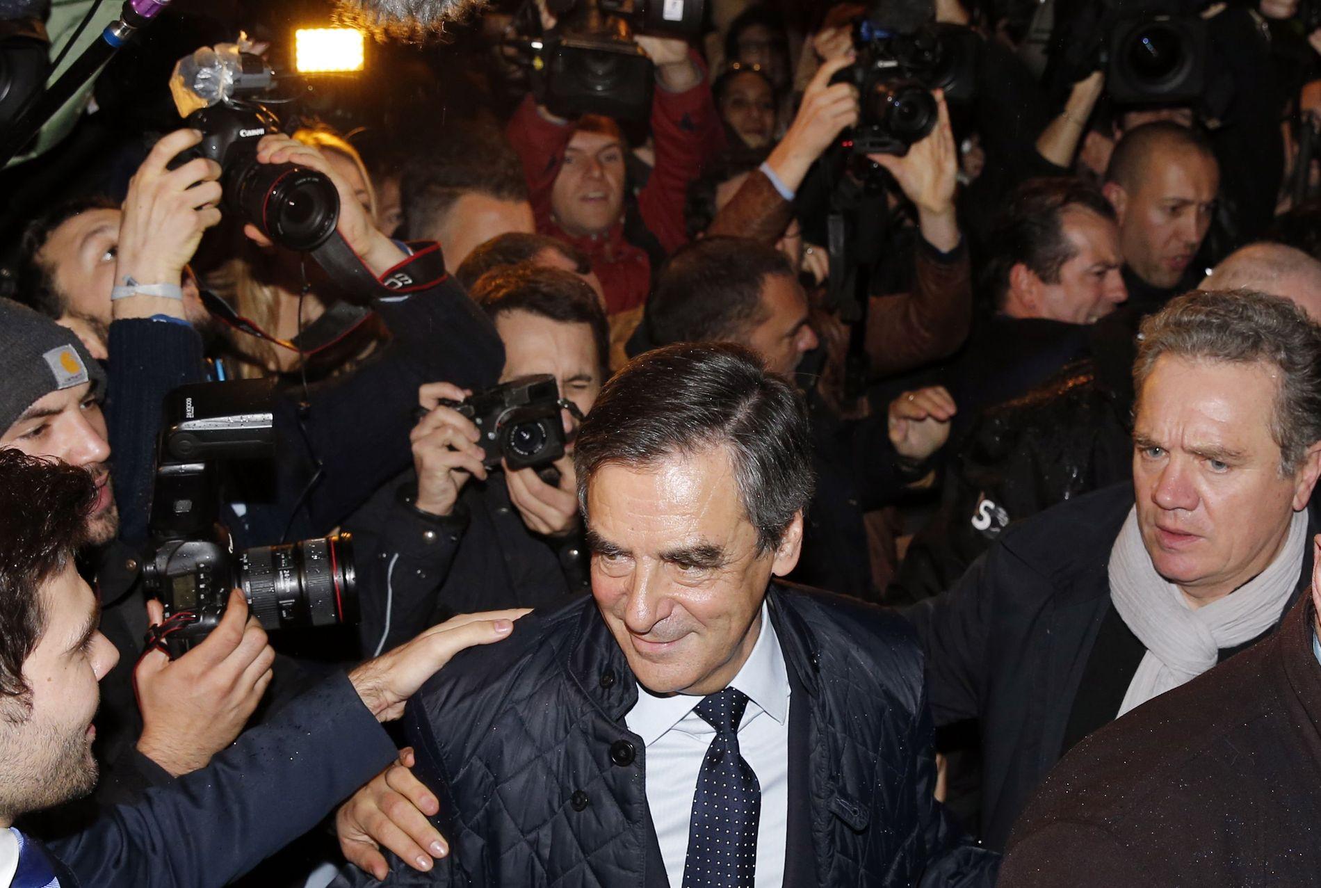 VIL BLI PRESIDENT: Francois Fillon lå lenge langt tilbake på meningmålingene, men kan nå bli presidentkandidat for de konservative.