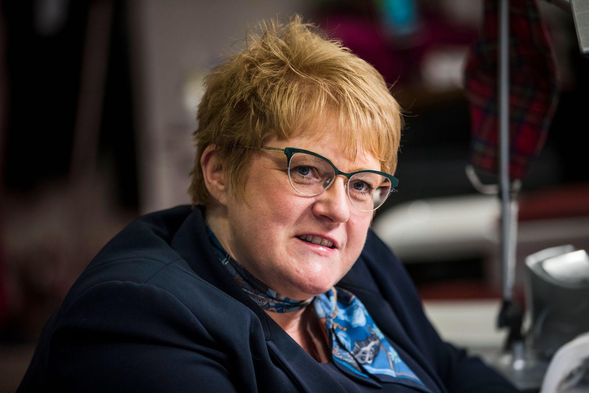 KRITISK: Kulturminister og Venstre-leder Trine Skei Grande, her under et intervju med VG i april.
