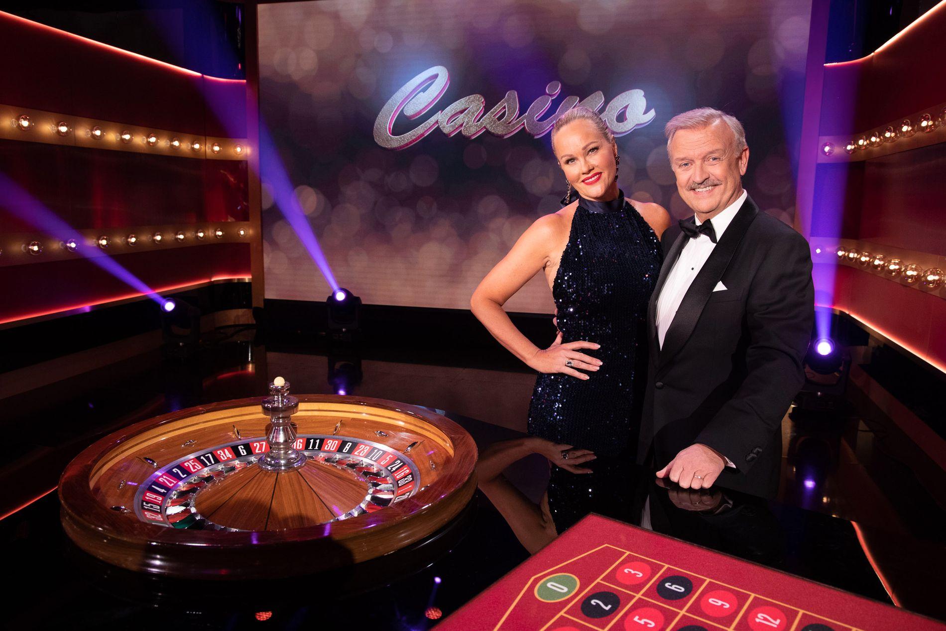 DET MESTE SOM FØR: Birgitte Seyffarth og Hallvard Flatland i «nye» «Casino».