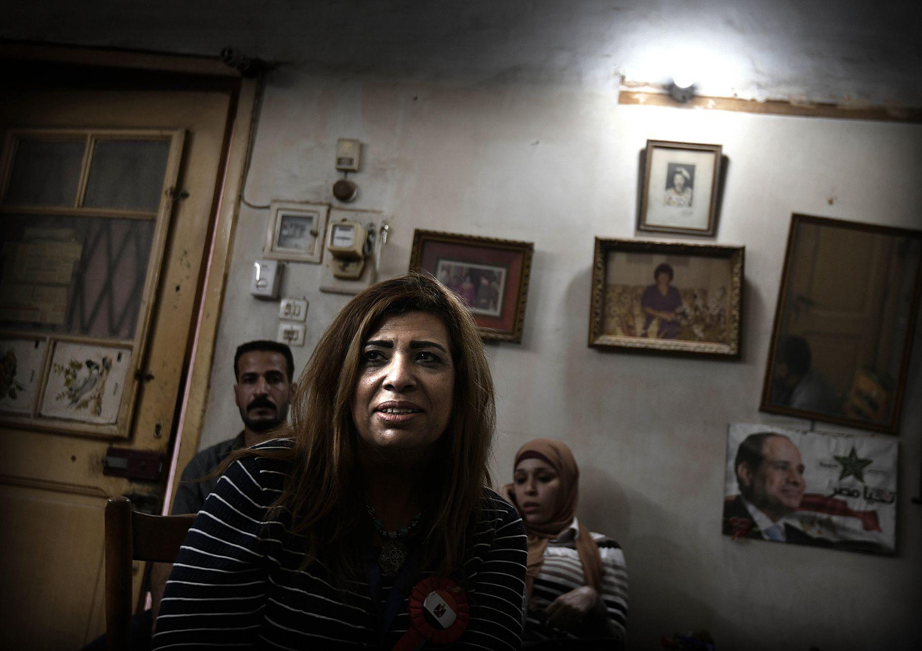 FRYKTER IKKE: Mariam Michael (53) er kopter og sier at hun vil fortsette å gå i kirken – uansett hva.