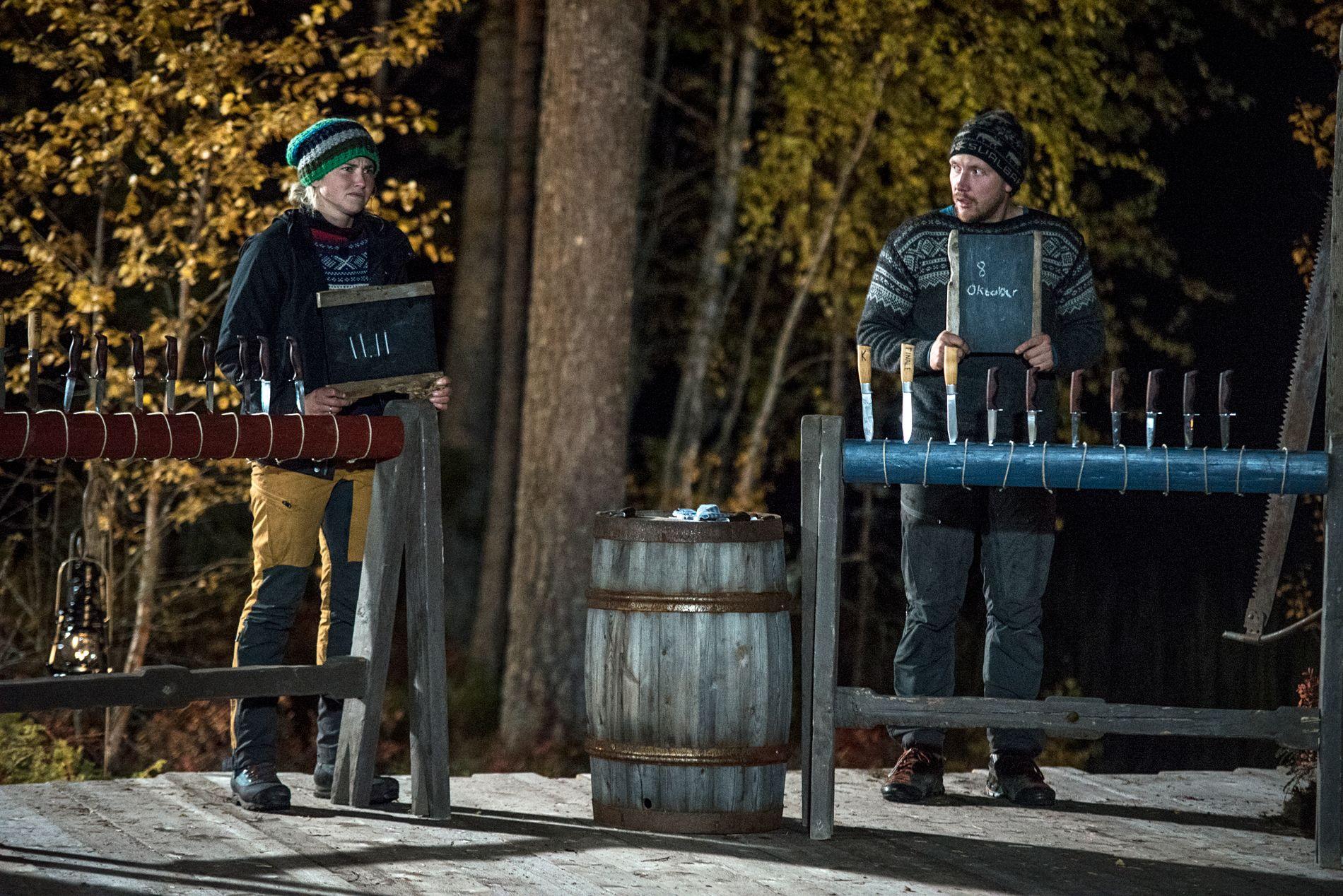 VINNER-BRÅK: Det ble en jevn «Farmen»-finale, som Tonje vant på målstreken. Etterpå ble hun anklaget for å ha jukset seg til seier.